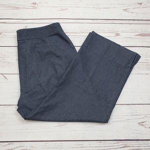 Anne Klein Polka Dots Cropped Dess Pants Size 10